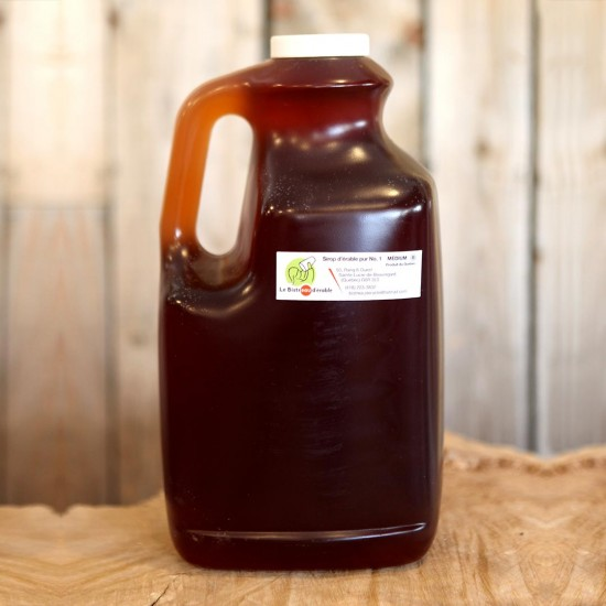 4 Litre jug of maple syrup